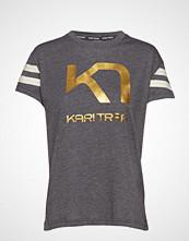 Kari Traa Vilde Tee T-shirts & Tops Short-sleeved Grå KARI TRAA