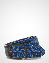 Desigual Accessories Belt Mandalablue Reversib