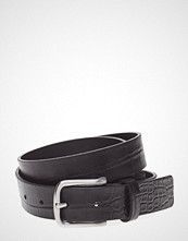 Royal Republiq Patriot Croco Belt Belte Svart ROYAL REPUBLIQ