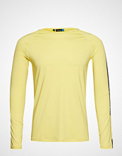 J.Lindeberg W Avril Poly Jersey T-shirts & Tops Long-sleeved Gul J. LINDEBERG