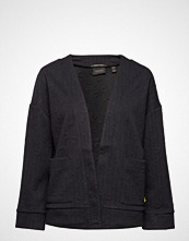 Scotch & Soda Jacquard Sweat Blazer Strikkegenser Cardigan Svart SCOTCH & SODA