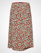 Selected Femme Slfreba Mw Midi Wrap Skirt Ex