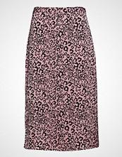 Vila Viwild Leo Print Skirt