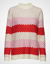 Coster Copenhagen Sweater In Mohair W. Color Mix And Strikket Genser Rød COSTER COPENHAGEN