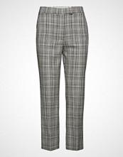 Mango Plaid Trousers