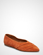 Flattered Inez Orange Suede
