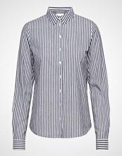Vila Visilina L/S Shirt Langermet Skjorte Blå VILA