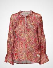 Odd Molly Deep Groove Garden L/S Blouse Bluse Langermet Rosa ODD MOLLY
