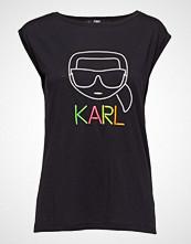 Karl Lagerfeld Neon Lights Karl Outline Tee