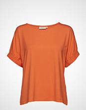 Masai Delia Top T-shirts & Tops Short-sleeved Oransje MASAI