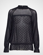 Coster Copenhagen Blouse In Mesh W. Vlevet Dots And L