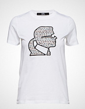 Karl Lagerfeld Boucle Karl Profile T-Shirt