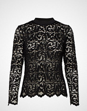 Coster Copenhagen Blouse In Lace W. Rib Details