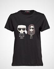 Karl Lagerfeld Karl Lagerfeld-Karl X Kaia Ikonik T-Shirt