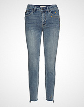 Odd Molly Groupie Cropped Jean Skinny Jeans Blå ODD MOLLY