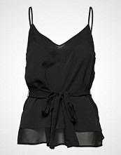 French Connection Crepe Light Solid Belted Cami