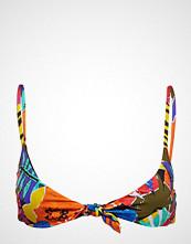 Polo Ralph Lauren Swimwear Batik Floral Knot Front Ots Bra