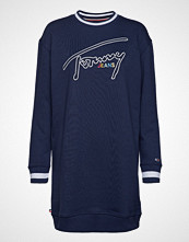Tommy Jeans Tjw Logo Sweatshirt Dress