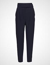 Mango Belt High-Waist Trousers