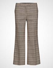 Mayla Stockholm Dylan Cropped Trousers Vide Bukser Beige MAYLA STOCKHOLM
