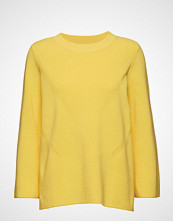 Just Female Lison O Neck Knit Strikket Genser Gul JUST FEMALE