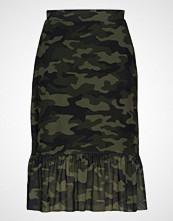 Only Onlmaja Camo Frill Skirt Jrs