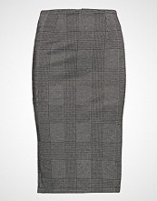 Only Onlhanni Check Long Skirt Pnt