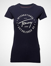 Tommy Jeans Tjw Tommy Script Circle Tee
