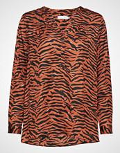 Coster Copenhagen Blouse W. Zebra Print