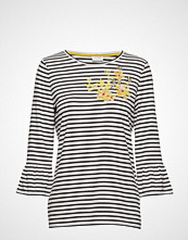 Gerry Weber T-Shirt 3/4-Sleeve R T-shirts & Tops Long-sleeved Blå GERRY WEBER