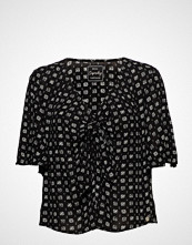 Superdry Zoe Tie Top Bluse Kortermet Multi/mønstret SUPERDRY