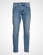Gant D1. Tapered Gant Jeans Slim Jeans Blå GANT