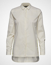 Marc O'Polo Shirts/Blouses Long Sleeve Langermet Skjorte Creme MARC O'POLO