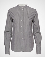 Calvin Klein Mini Gingham Pintuck Shirt Ls