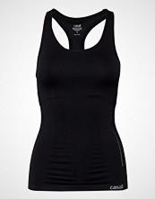 Casall Seamless Support Racerback T-shirts & Tops Sleeveless Svart Casall
