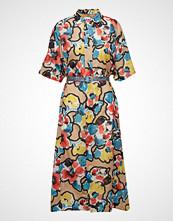 Hope Billow Dress Knelang Kjole Multi/mønstret HOPE