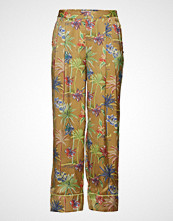 Scotch & Soda Printed Wide Leg Pyjama Inspired Pants Vide Bukser Multi/mønstret SCOTCH & SODA