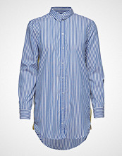 Only Onlmandy Stripe Tape Dnm Long Shirt Qyt