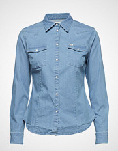 Lee Jeans Slim Western Langermet Skjorte Blå LEE JEANS