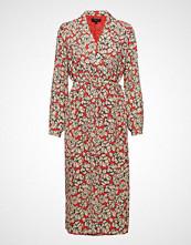 Selected Femme Slfreba Ls Midi Wrap Dress Ex