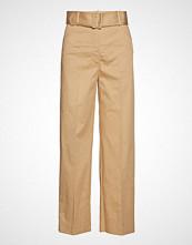 Mango High-Waist Crop Trousers