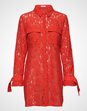 Coster Copenhagen Shirt Dress In Lace W. Tieband Cuff