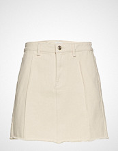 Only Onlsafari Raw Edge Skirt Pnt