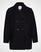 Violeta by Mango Double-Breasted Wool Coat