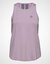Craft Lux Singlet T-shirts & Tops Sleeveless Rosa CRAFT