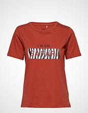 Minimum Kimma T-shirts & Tops Short-sleeved Rød MINIMUM