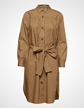 French Connection Southside Cotton Belted Shirt Dress