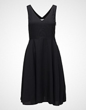Calvin Klein Tencel Sleeveless Fit And Flare Dress