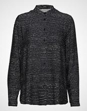 Nanso Ladies Shirt, Hiekka Bluse Langermet Svart NANSO