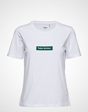 Minimum Kimma T-shirts & Tops Short-sleeved Hvit MINIMUM